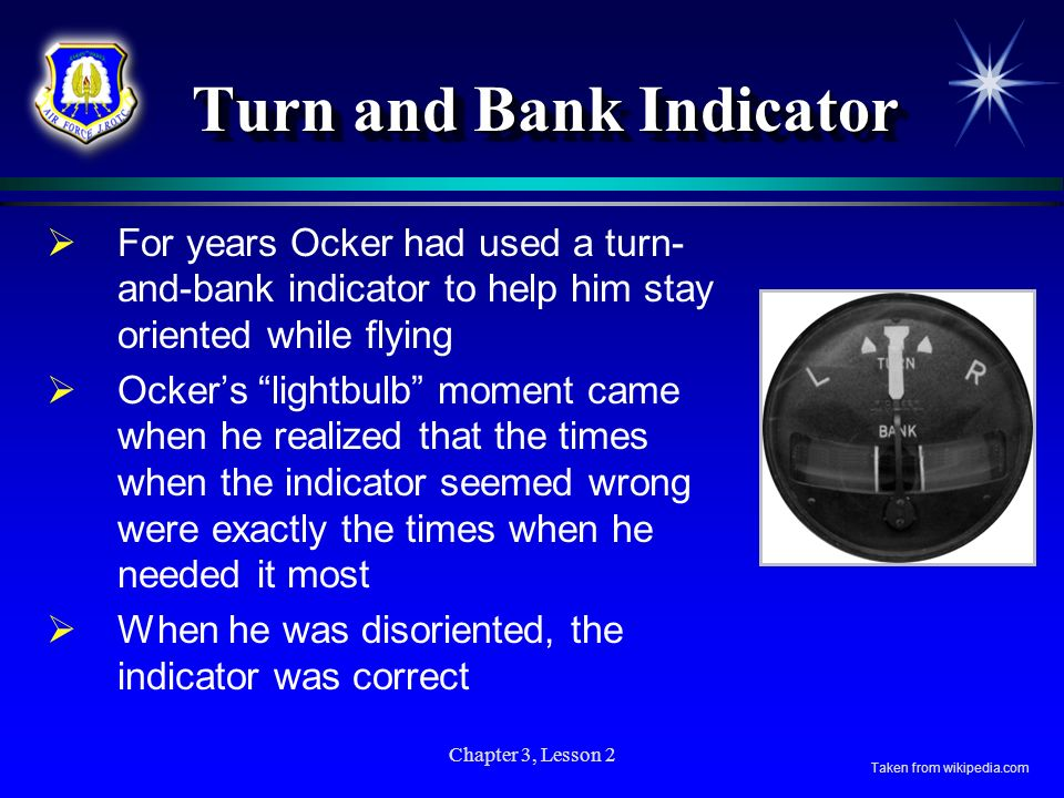Turn and Bank Indicator