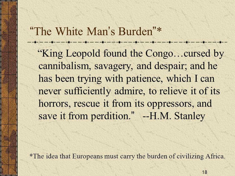 The White Man's Burden *