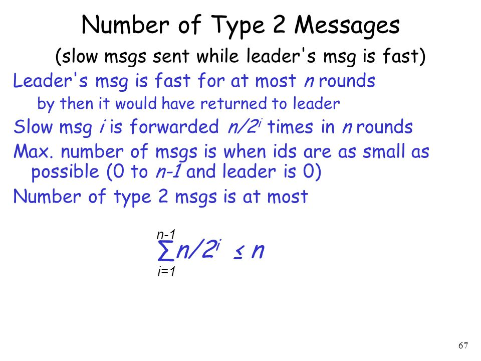 Number of Type 2 Messages