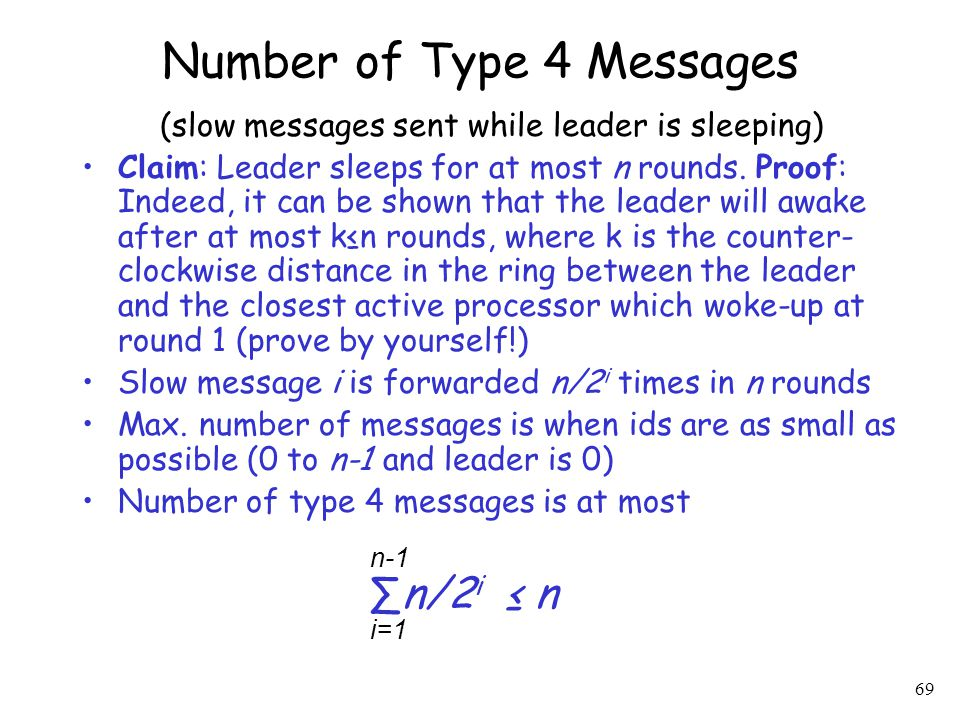 Number of Type 4 Messages