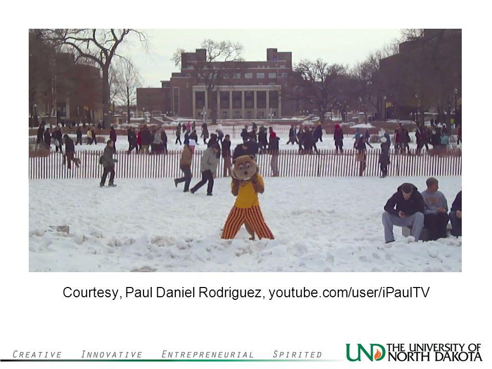 Courtesy, Paul Daniel Rodriguez, youtube.com/user/iPaulTV