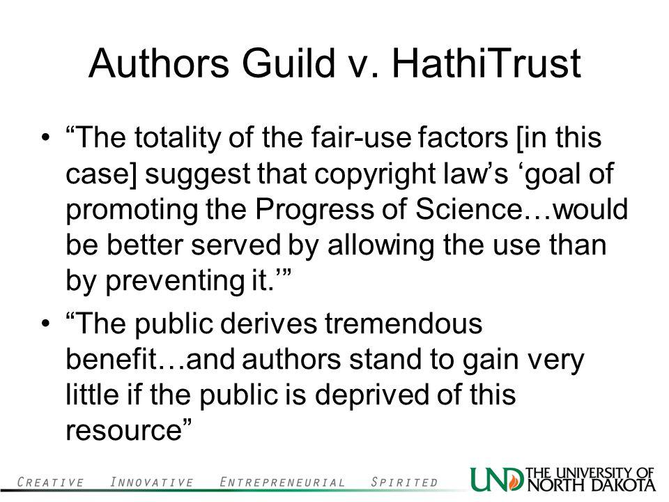 Authors Guild v. HathiTrust