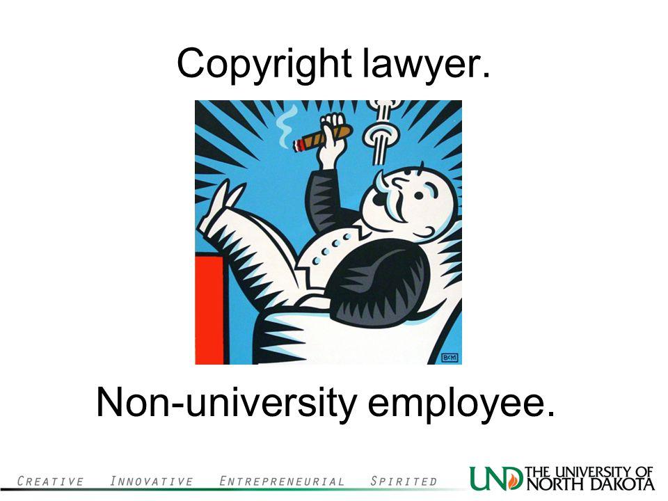 Non-university employee.
