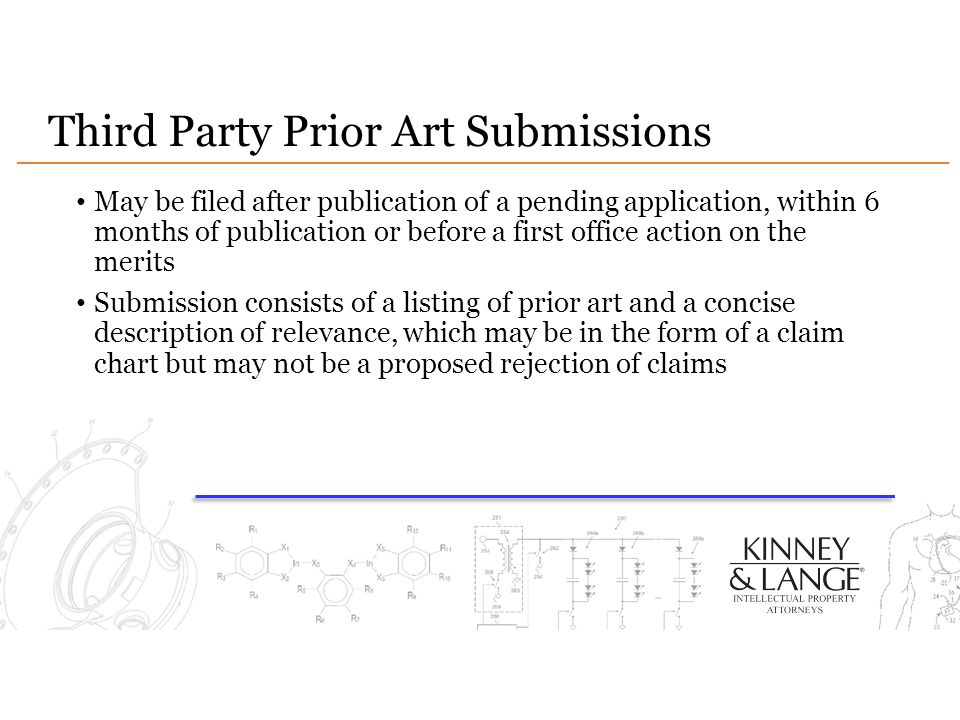 Third Party Prior Art Submissions