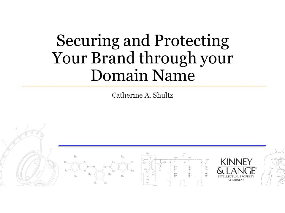 Securing and Protecting Your Brand through your Domain Name