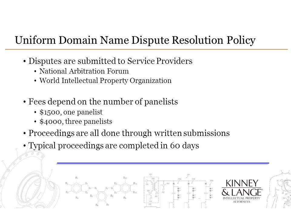 Uniform Domain Name Dispute Resolution Policy
