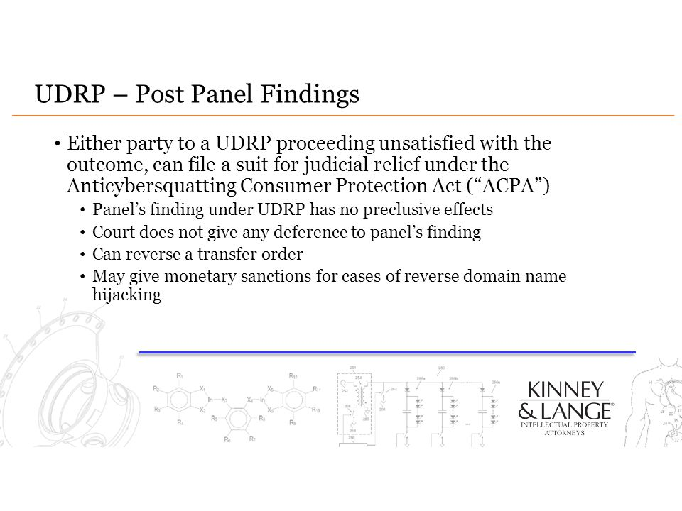 UDRP – Post Panel Findings