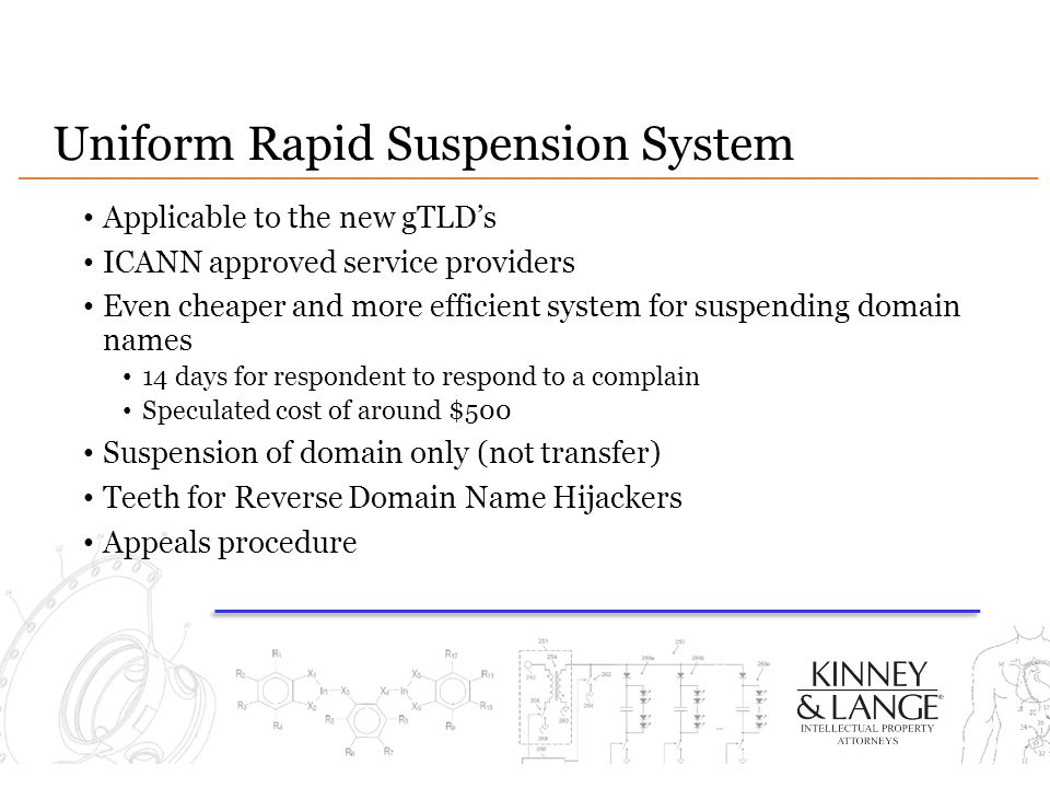 Uniform Rapid Suspension System