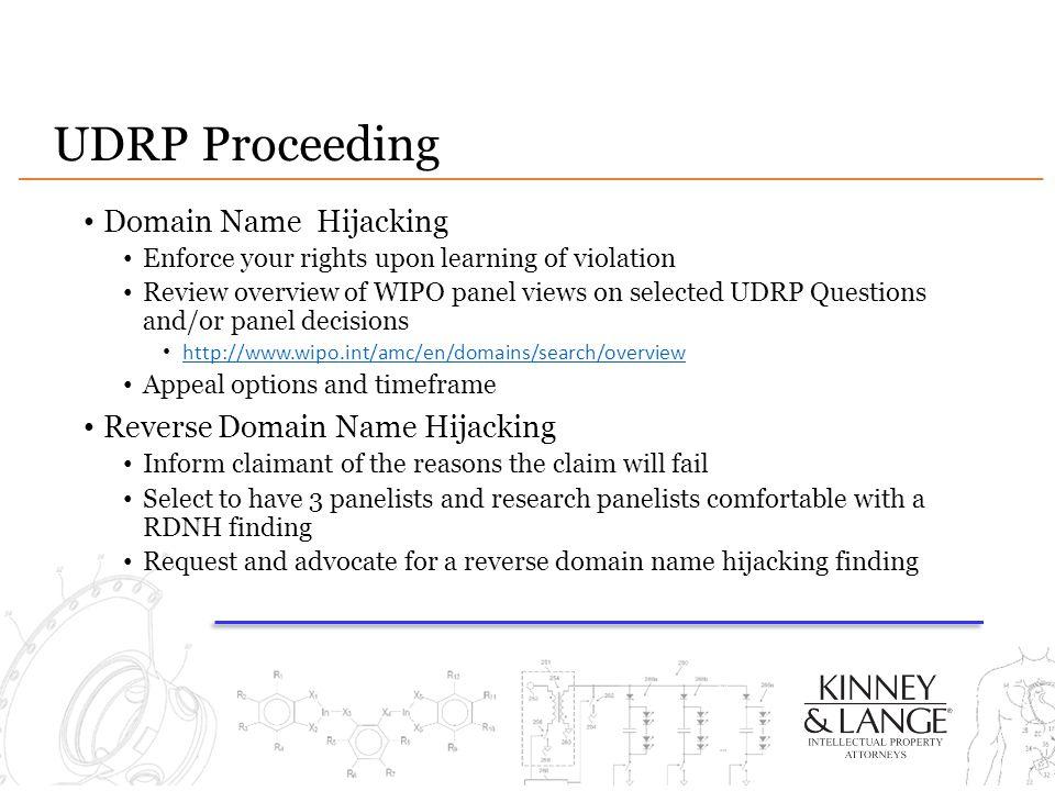 UDRP Proceeding Domain Name Hijacking Reverse Domain Name Hijacking