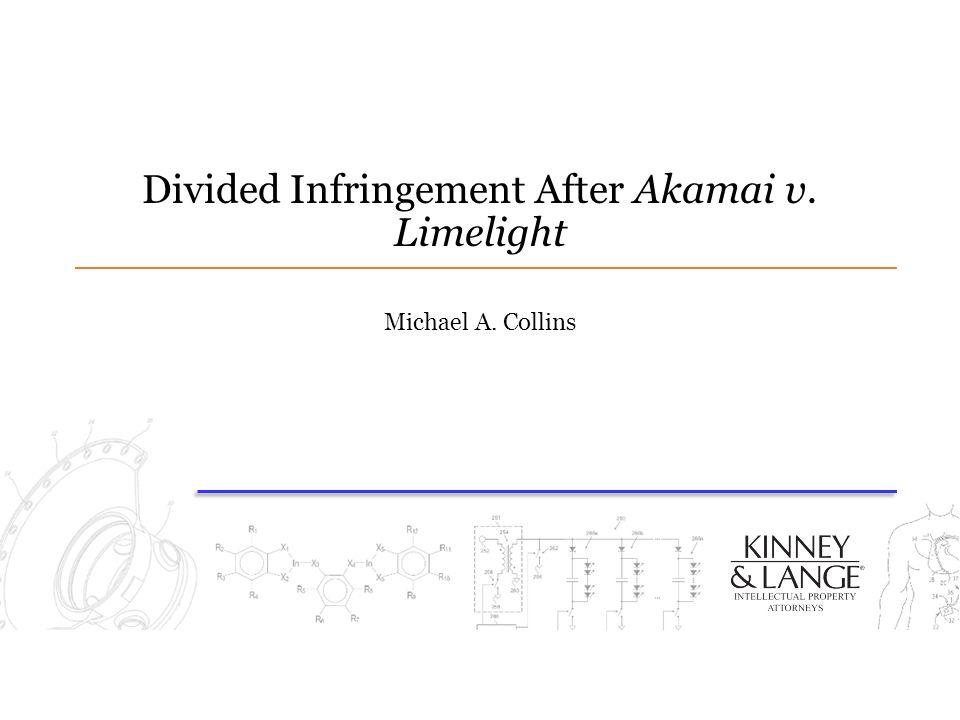 Divided Infringement After Akamai v. Limelight