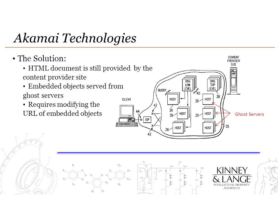 Akamai Technologies The Solution: