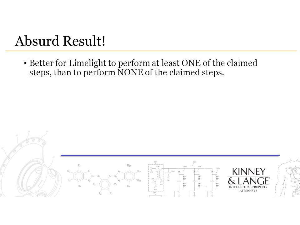 Absurd Result.