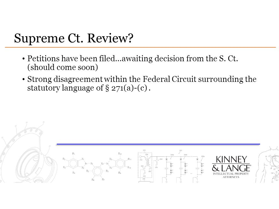 Supreme Ct. Review Petitions have been filed…awaiting decision from the S. Ct. (should come soon)