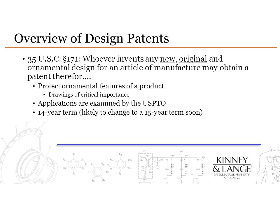 Overview of Design Patents
