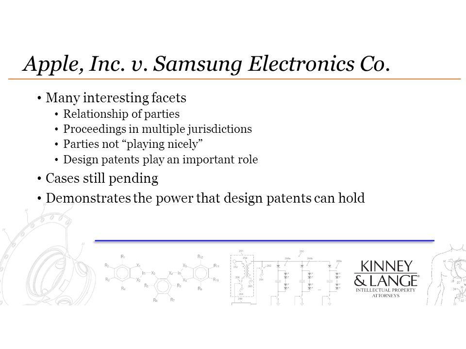 Apple, Inc. v. Samsung Electronics Co.