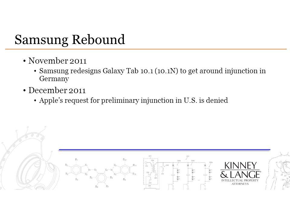 Samsung Rebound November 2011 December 2011