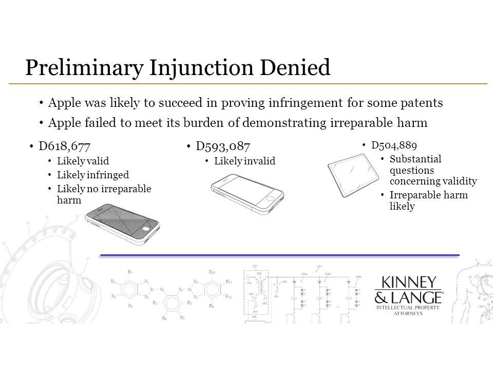 Preliminary Injunction Denied