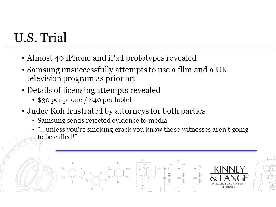 U.S. Trial Almost 40 iPhone and iPad prototypes revealed