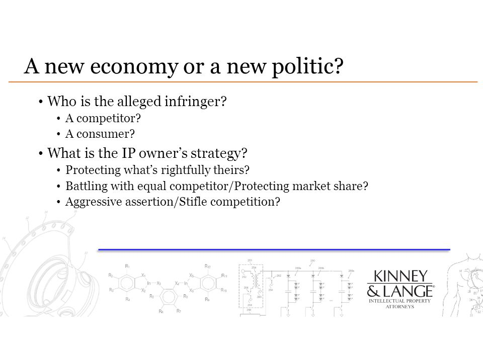 A new economy or a new politic