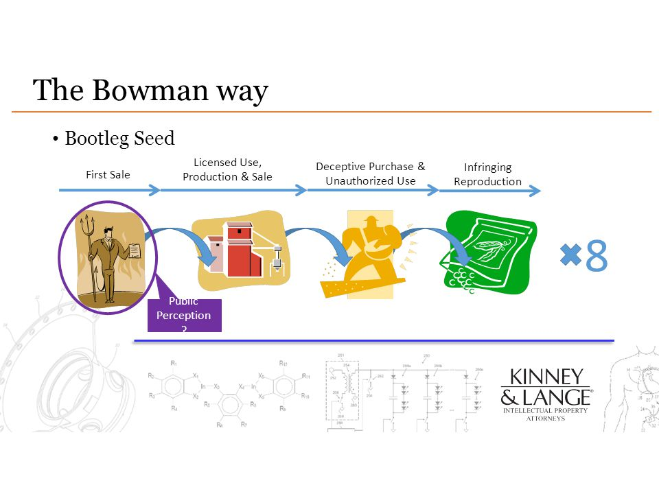 8 The Bowman way Bootleg Seed Licensed Use, Production & Sale