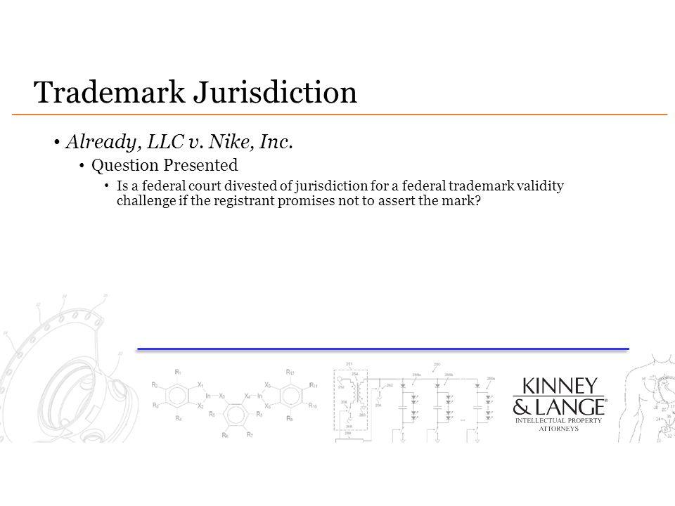 Trademark Jurisdiction