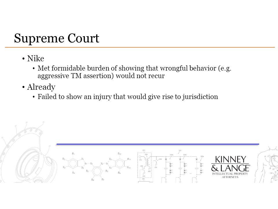 Supreme Court Nike Already