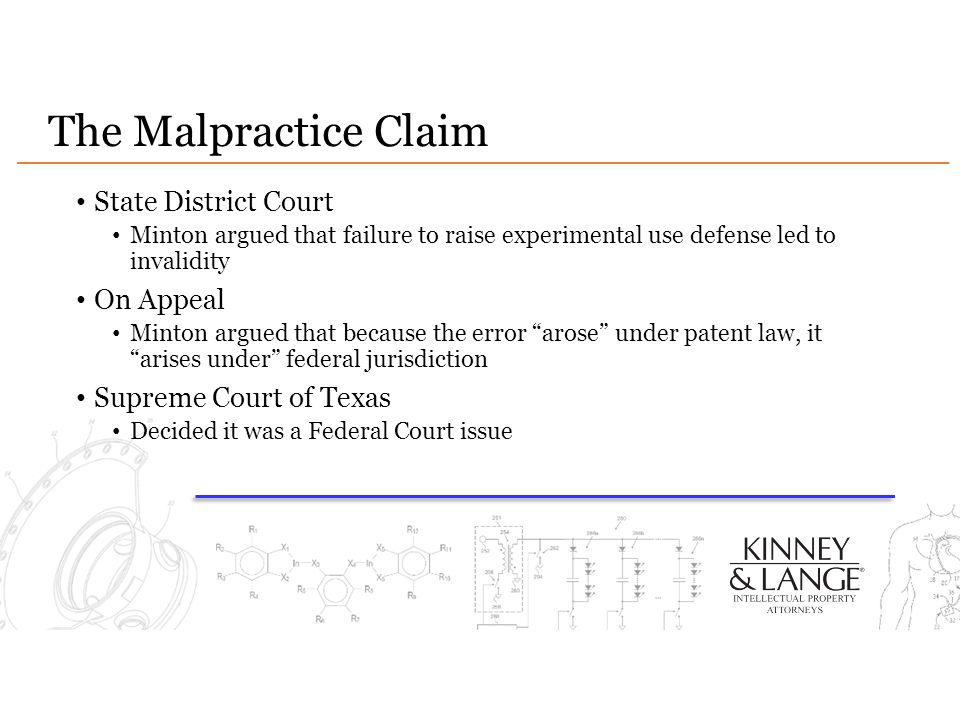 The Malpractice Claim State District Court On Appeal
