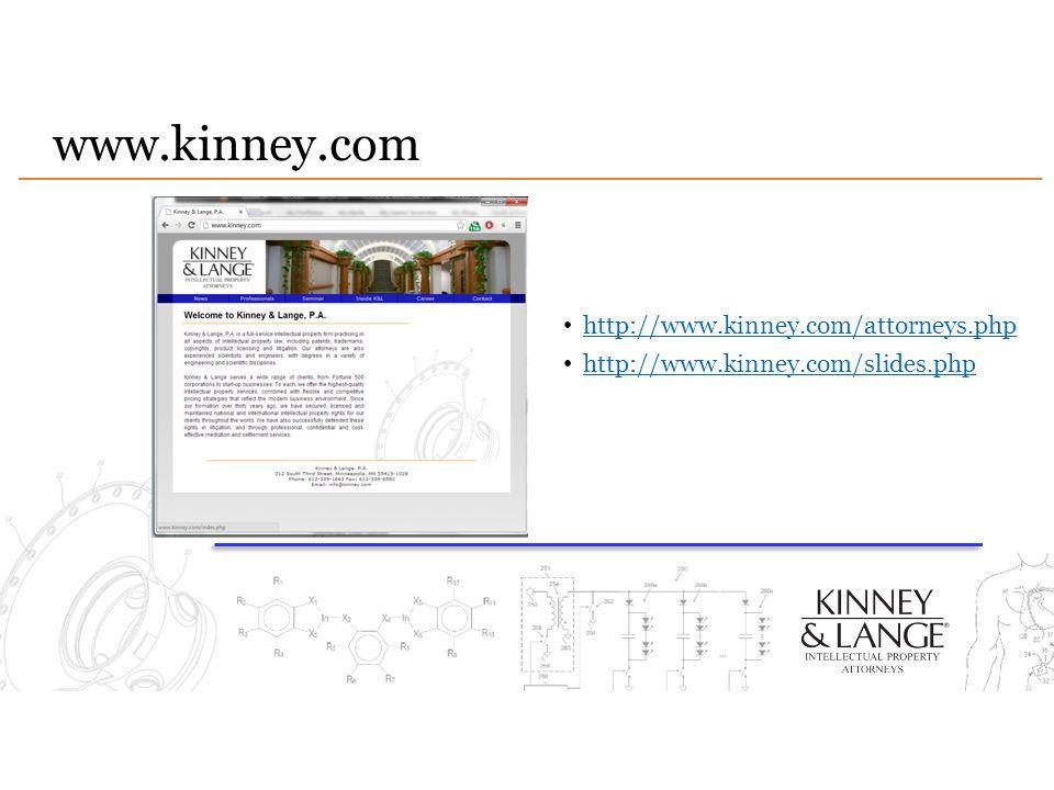 www.kinney.com http://www.kinney.com/attorneys.php