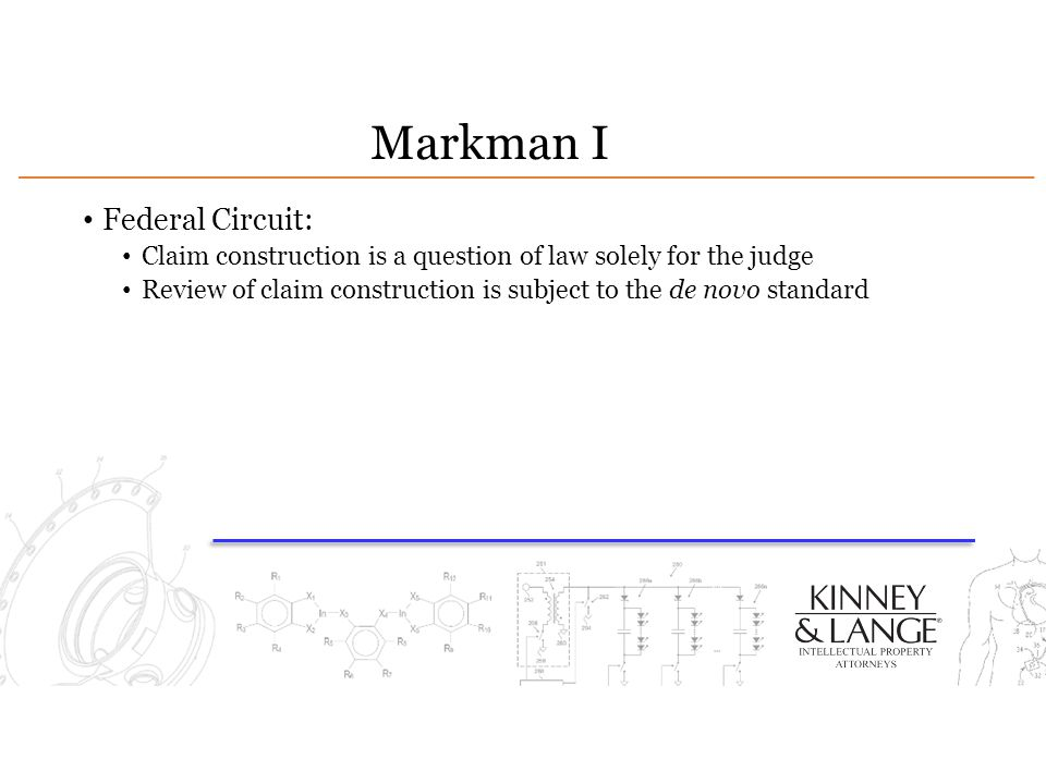 Markman I Federal Circuit: