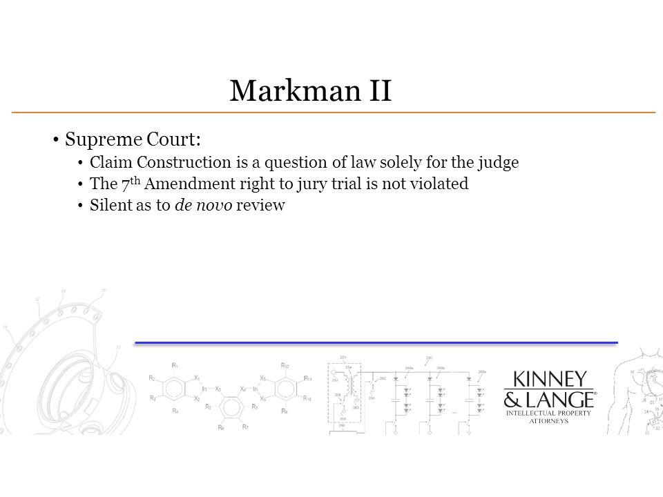Markman II Supreme Court: