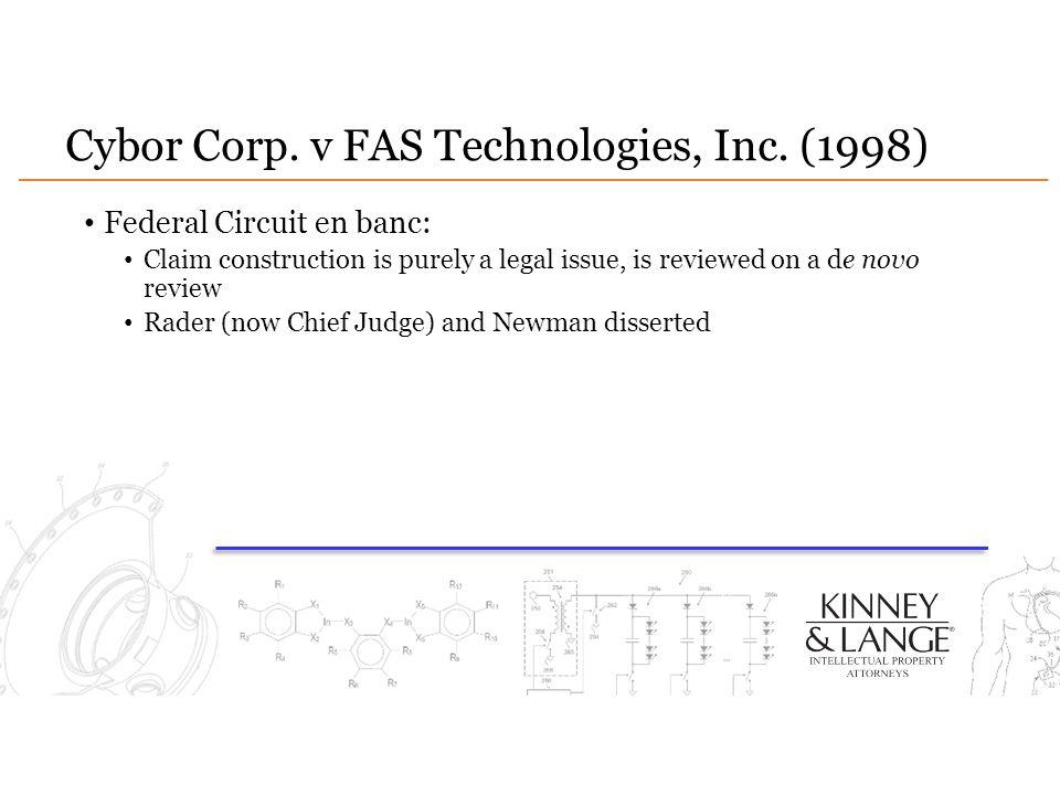 Cybor Corp. v FAS Technologies, Inc. (1998)