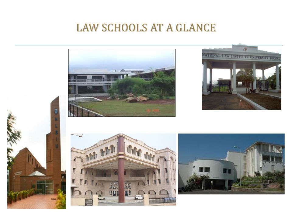 LAW SCHOOLS AT A GLANCE