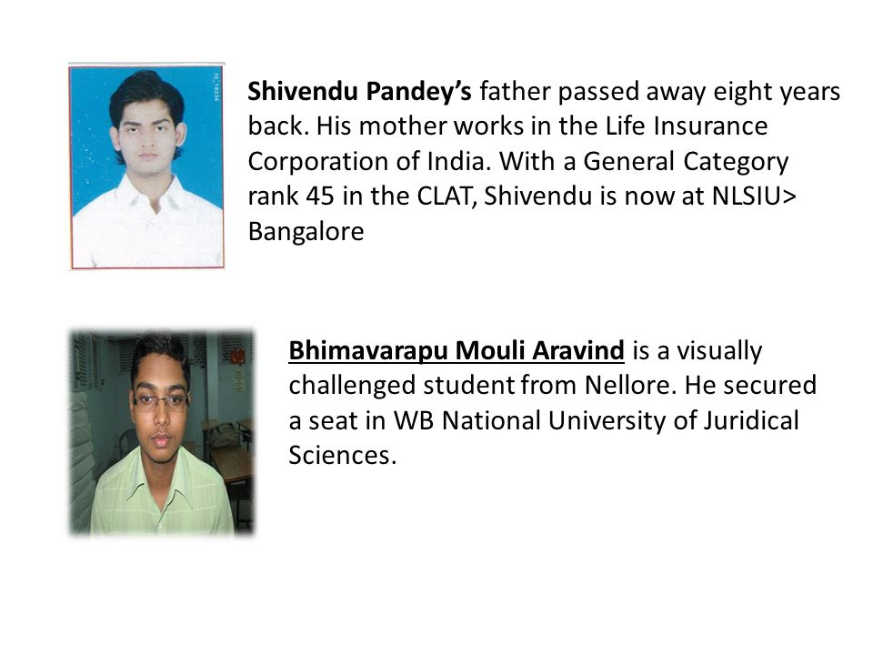 Shivendu Pandey's father passed away eight years back
