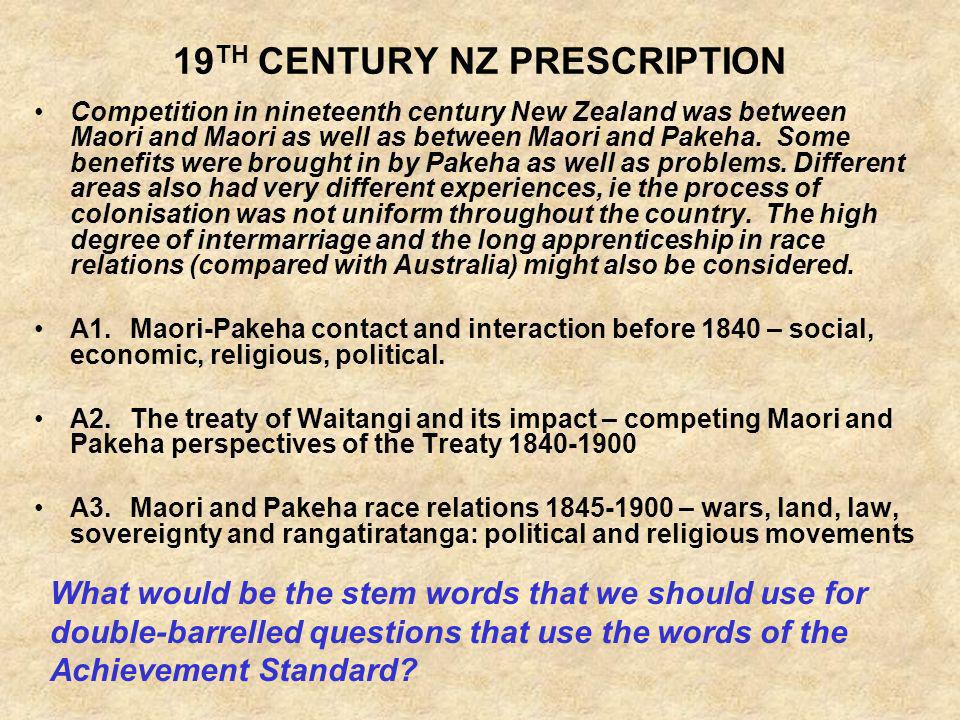 19TH CENTURY NZ PRESCRIPTION
