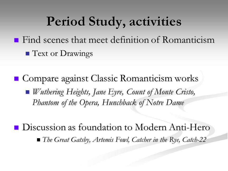 Period Study, activities