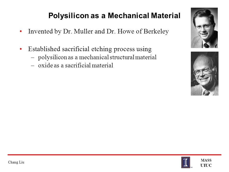 Polysilicon as a Mechanical Material