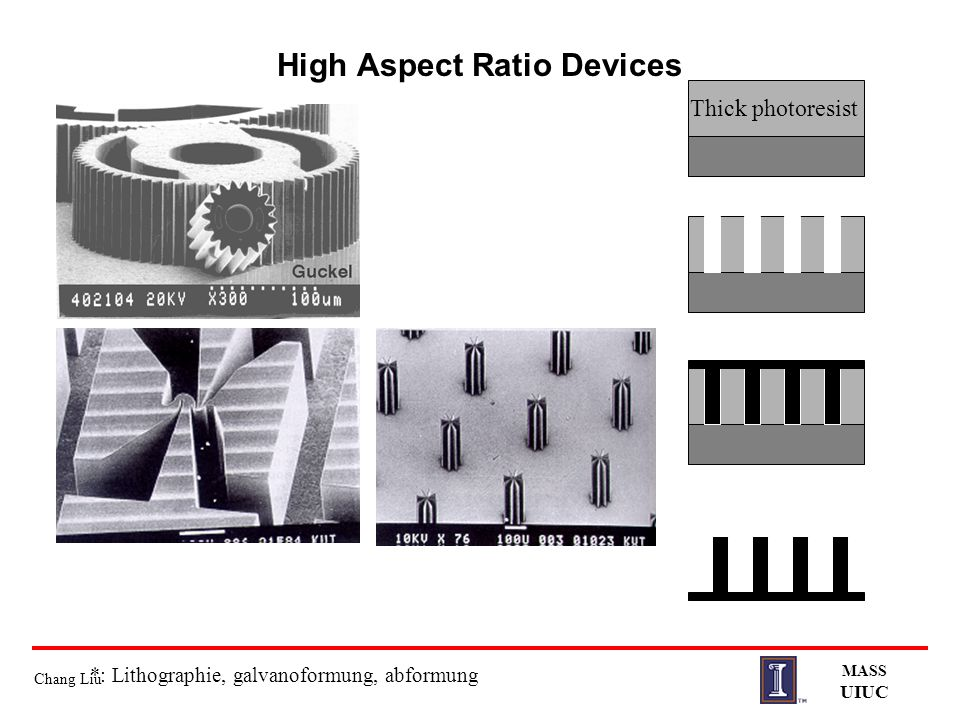 High Aspect Ratio Devices