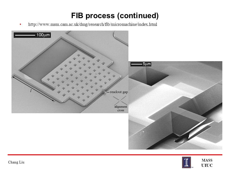 FIB process (continued)