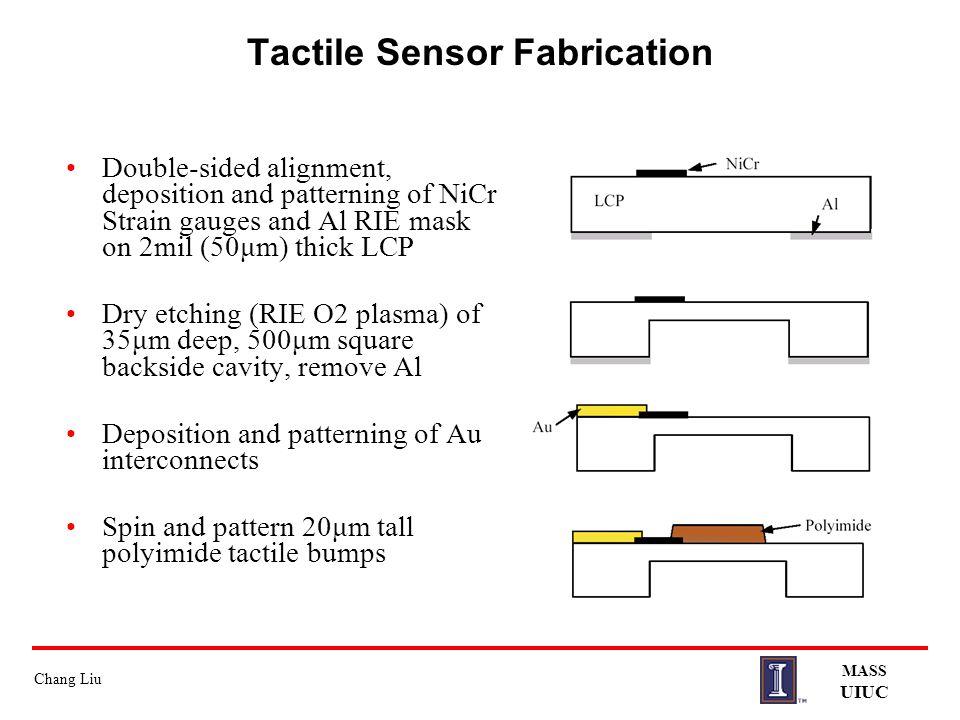 Tactile Sensor Fabrication
