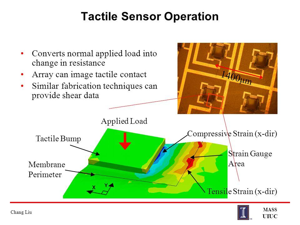 Tactile Sensor Operation