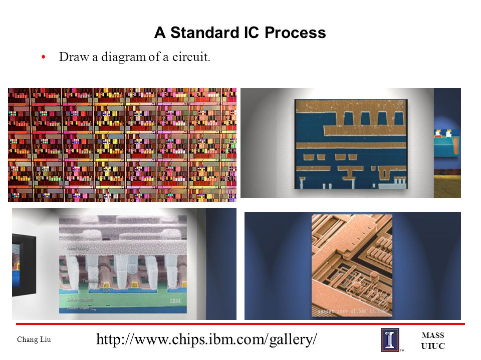 A Standard IC Process http://www.chips.ibm.com/gallery/