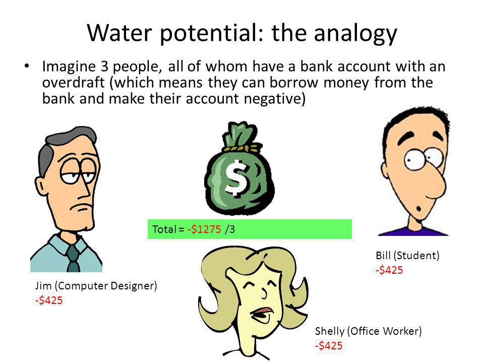 Water potential: the analogy