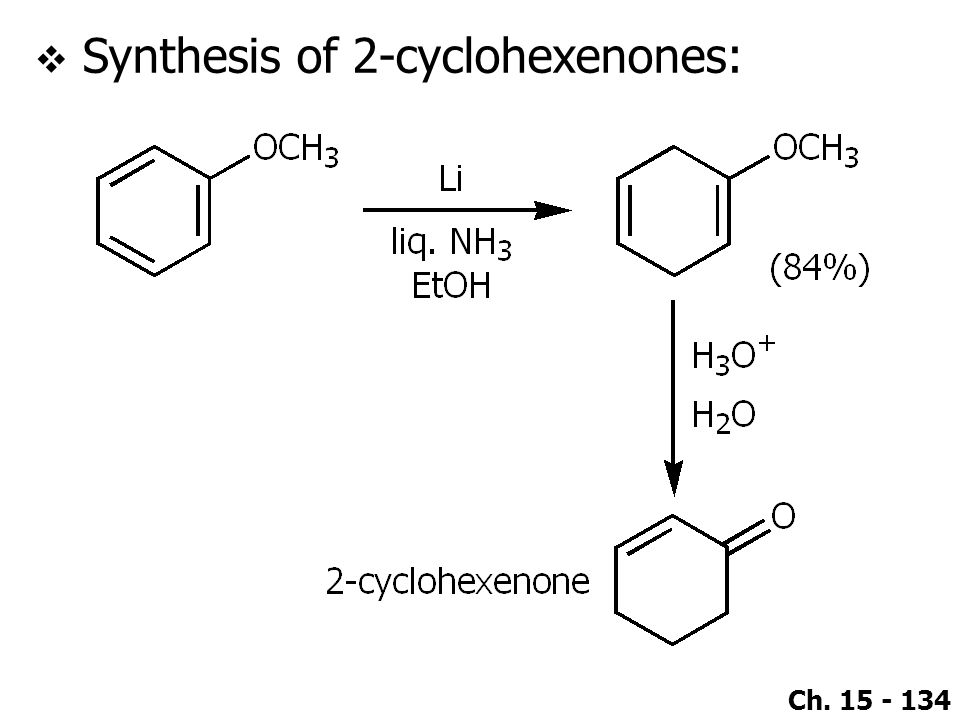 Synthesis of 2-cyclohexenones: