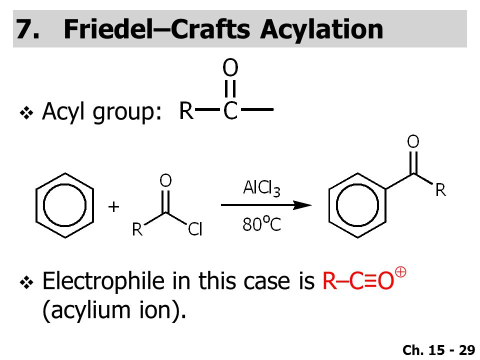 Friedel–Crafts Acylation
