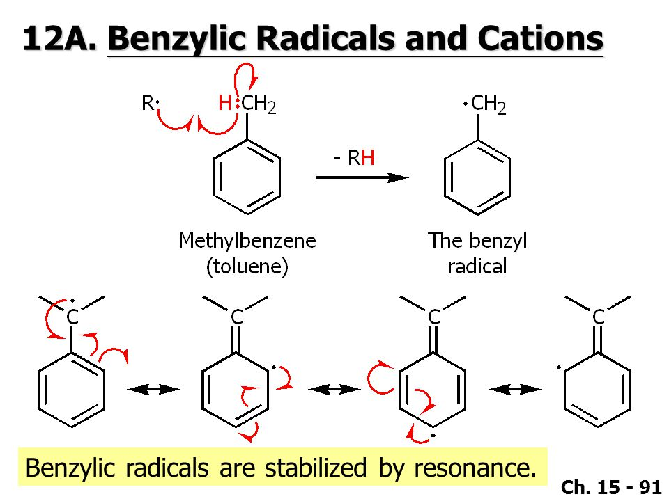 12A. Benzylic Radicals and Cations