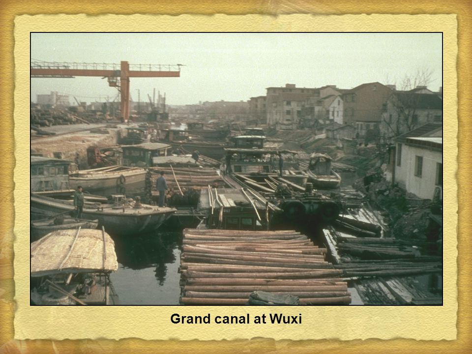Grand canal at Wuxi