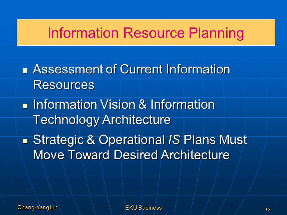 Information Resource Planning