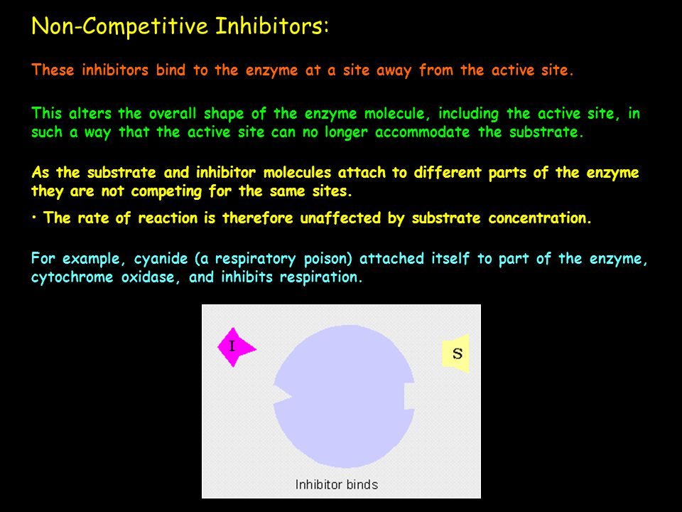 Non-Competitive Inhibitors: