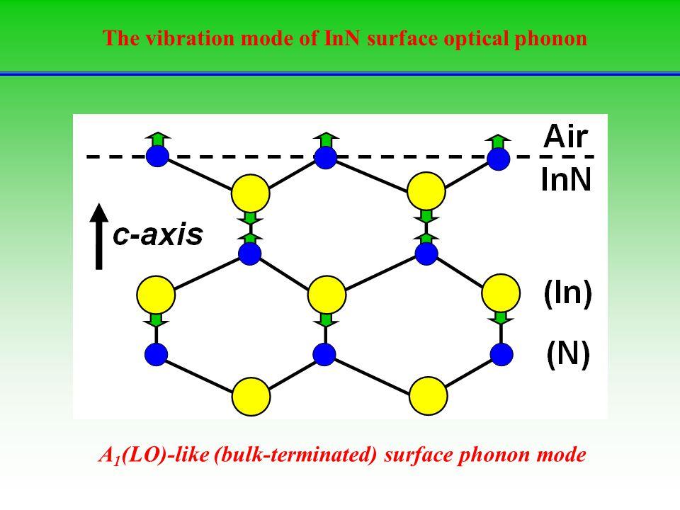 The vibration mode of InN surface optical phonon