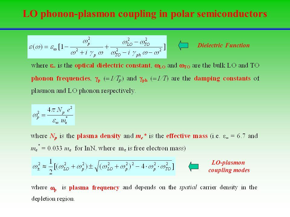 LO phonon-plasmon coupling in polar semiconductors